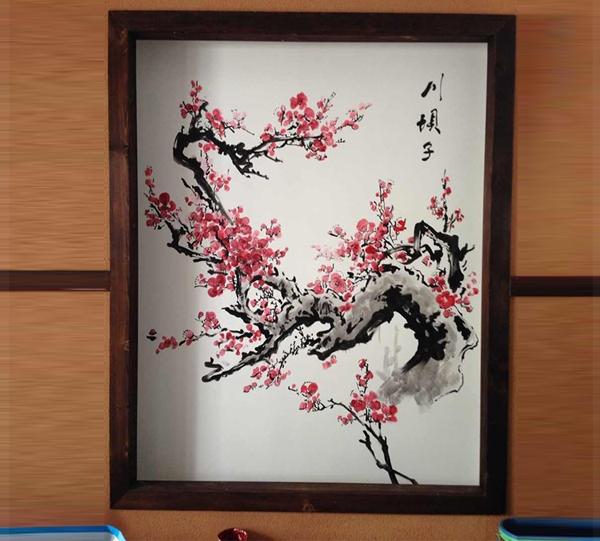 重庆小面手绘墙