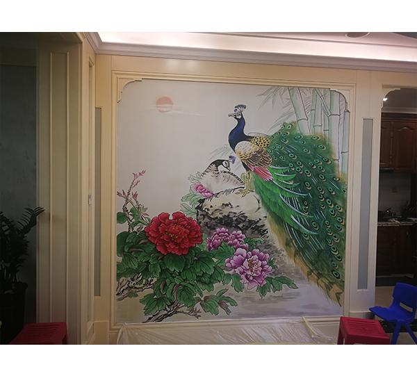 哈尔滨墙体彩绘