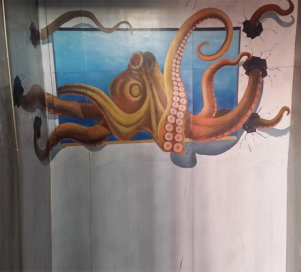 哈尔滨3D手绘