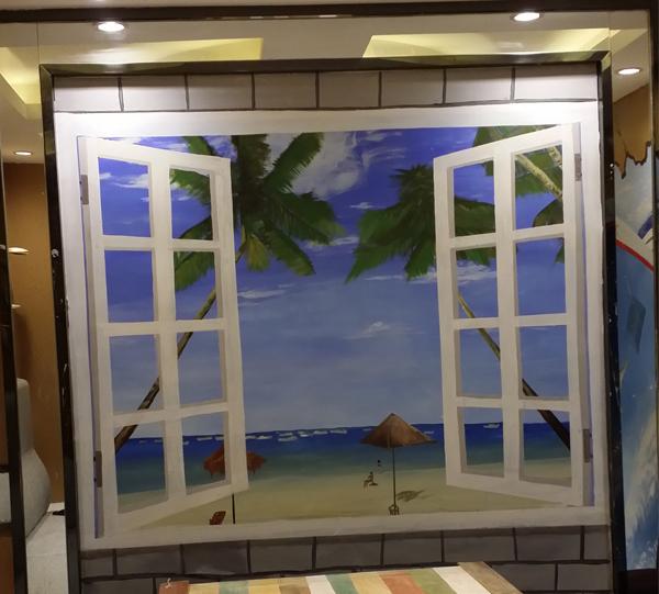 哈尔滨3D立体彩绘