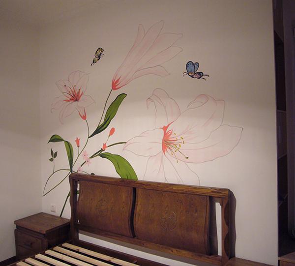 哈尔滨家装手绘墙