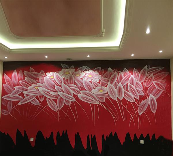 哈尔滨手绘墙画