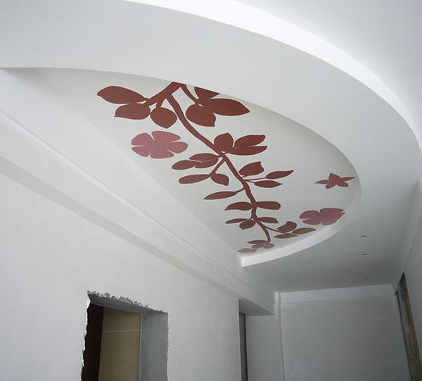 家装棚顶彩绘