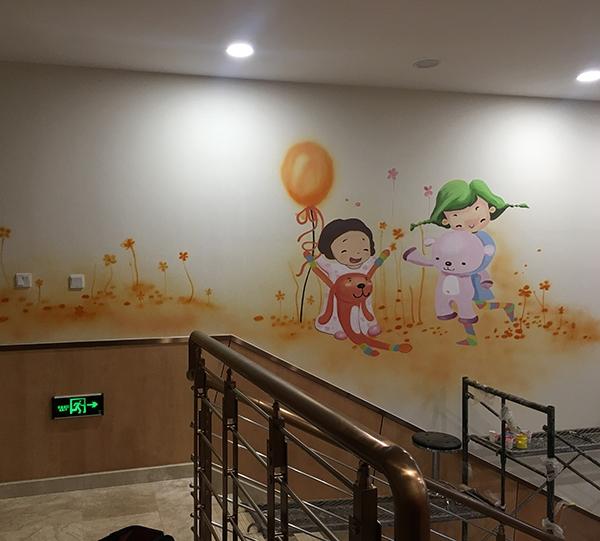儿童病房手绘