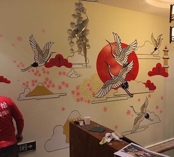 墙体手绘公司