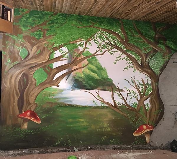 哈尔滨墙绘公司