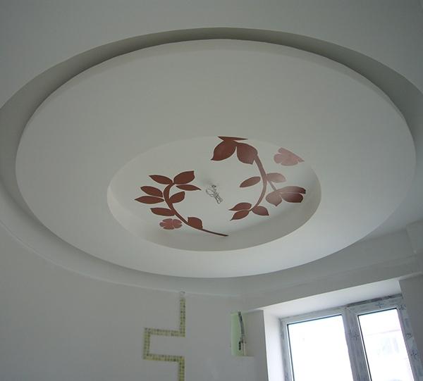 家装天花彩绘