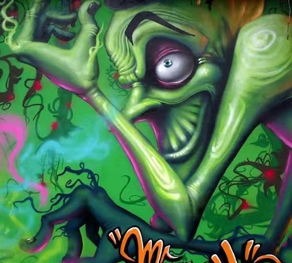哈尔滨墙体绘画